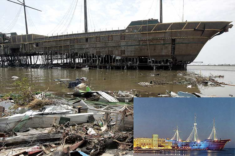 Treasure Bay Casino, before and after Hurricane Katrina